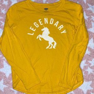 Old navy long sleeve shirt size 8 Used